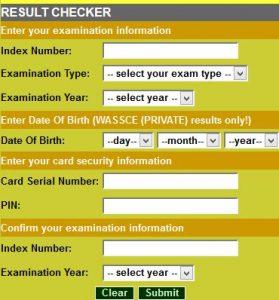Ghana Waec Result Checker 2017
