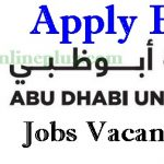Abu Dhabi University Jobs Vacancies | Abu Dhabi University Jobs Application