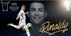 Ronaldo Wins UEFA Men's Player