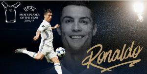 Ronaldo Wins UEFA Men's Player