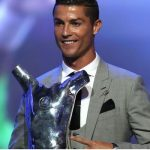 Ronaldo Wins UEFA Men's Player Of The Year Award For 2016/17 Season