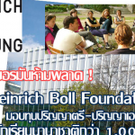 Henrich Boll Foundation Scholarships Now Available – How To Apply