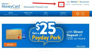 Walmart MoneyCard Login