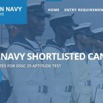 Shortlisted Candidates for Nigerian Navy DSSC 2017 List – joinnigeriannavy.com