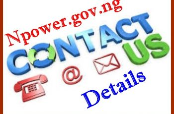 Npower.gov.ng Contact Us Number