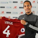 RECORD DEAL FOR VAN DIJK CONFIRMED BY LIVERPOOL