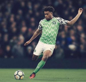 Nigerian New Jersey for 2018 World Cup