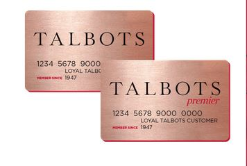 Talbots Credit Card Payment