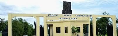 EBSU Supplementary Admission Form