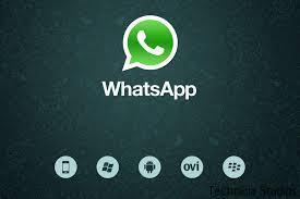 WhatsApp Messenger on computer