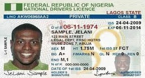 Nigeria Drivers Licence