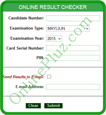 NABTEB 2015/2016 May/June Result