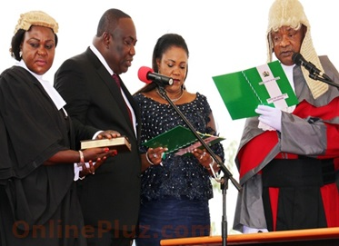 Newly Appointed Commissioners in Enugu State