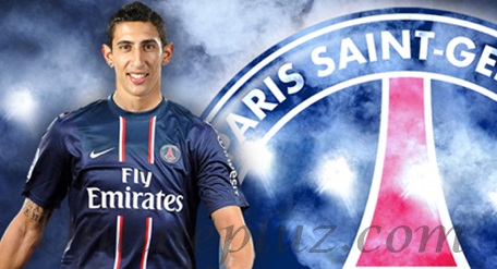 Paris St-Germain Signs Angel Di Maria