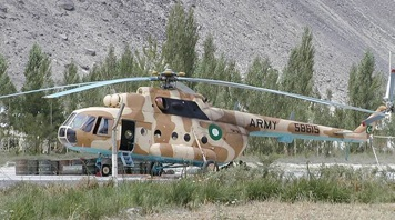Helicopter Crash kills Nine People in Mansehra