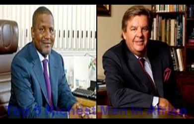 Top 5 Richest Men in Africa