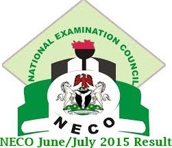 2015 NECO June/July Result