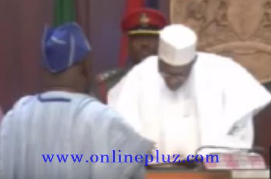 Buhari Swears in New Minister