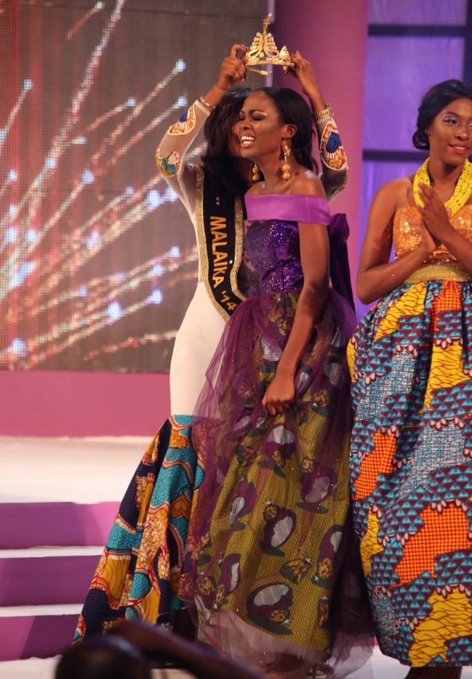 Winner of Miss Malaika Ghana 2015