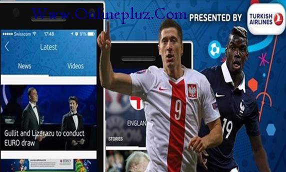 Download UEFA EURO 2016 App