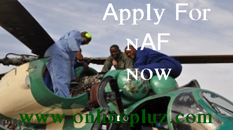 Nigerian Air force 2016 Recruitment Form