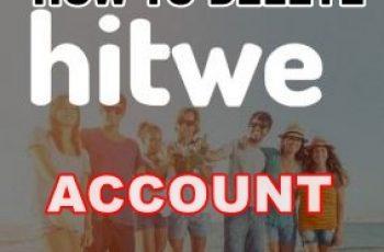 Delete Hitwe Account, Deactivate Hitwe Account on www.hitwe.com
