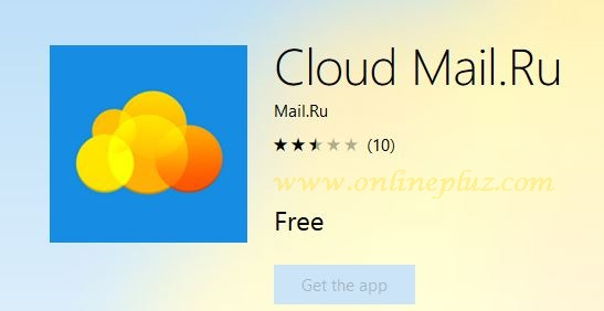Download Cloud Mail.Ru App