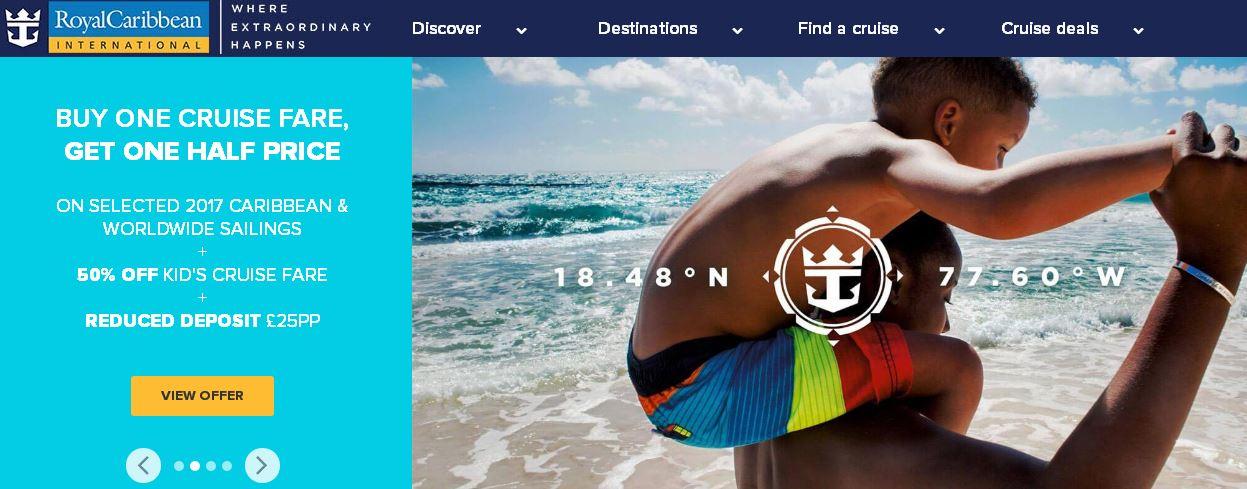 Sign Up Royal Caribbean UK Newsletters