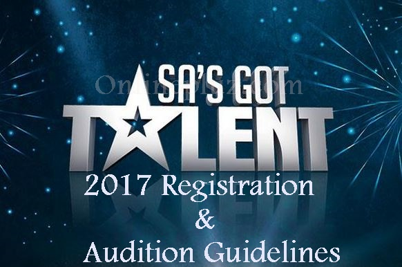 SA's Got Talent 2017 Registration