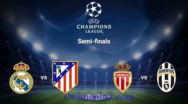 UEFA Champions League 2017 Semi-Final Draw