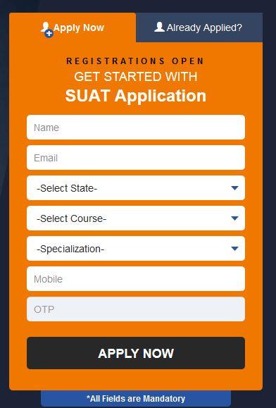 Sharda University 2017 Application Form