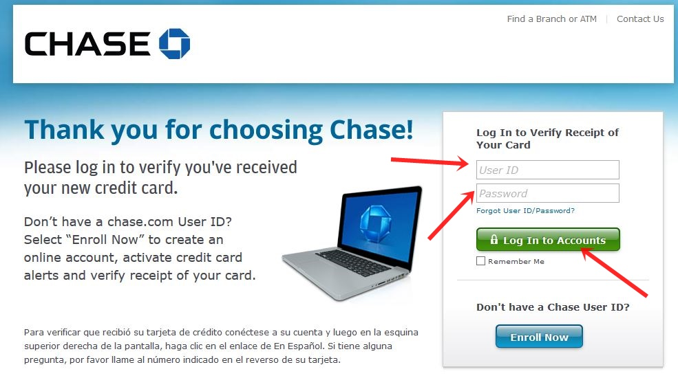 Chase bank online services - Trade setups that work