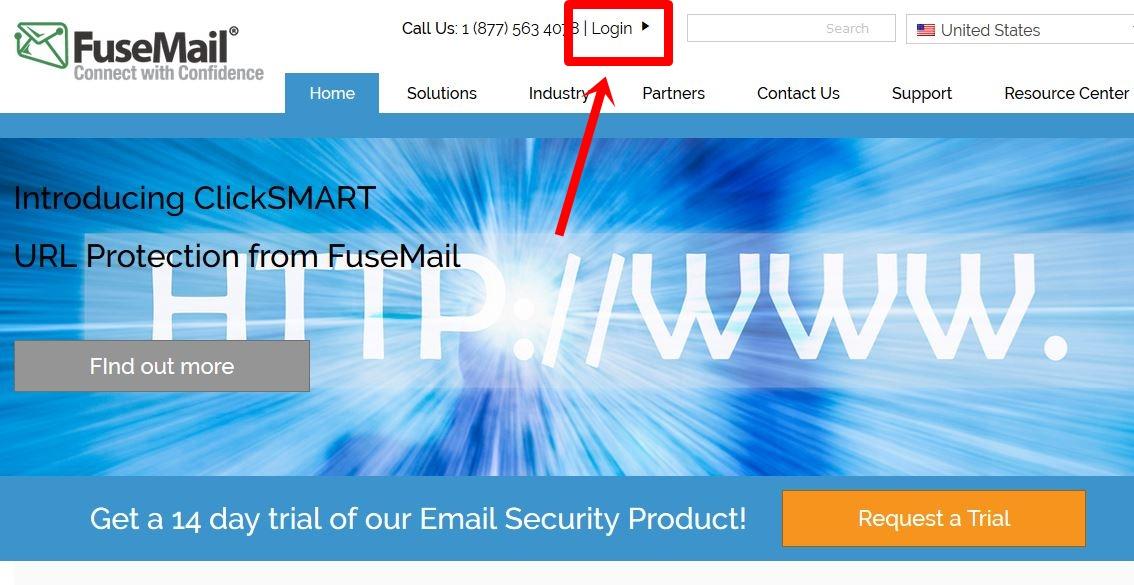 Login FuseMail Account
