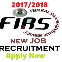 FIRS Recruitment Registration 2017
