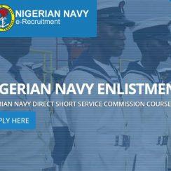 Nigerian Navy DSS Recruitment Form