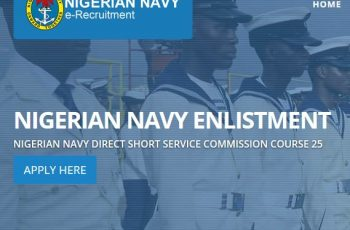 Nigerian Navy DSS Recruitment Form
