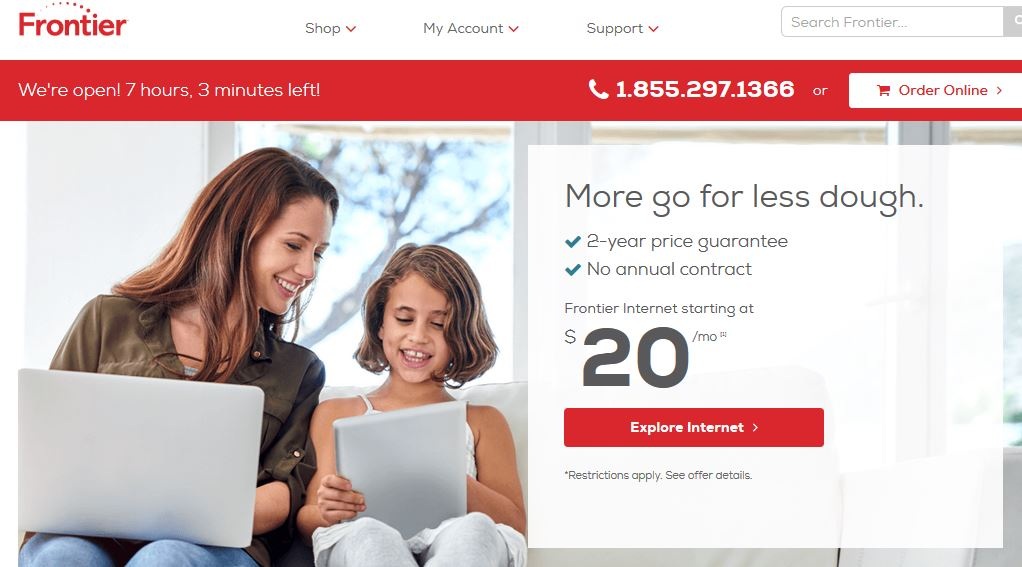 Frontier Mail Login - How To Login To Your Frontier Mail