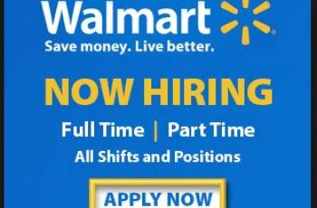 Walmart Job Application Online