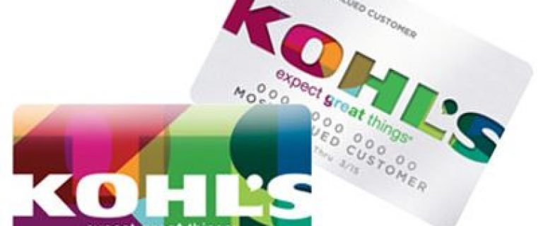 MyKohlscharge Credit Card Login