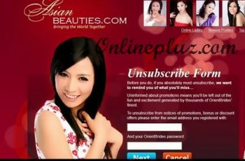 Unsubscribe from AsianDate Emails