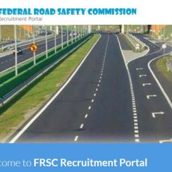 FRSC Recruitment 2018/2019