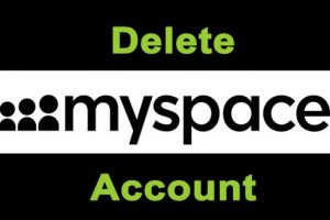 delete myspace account