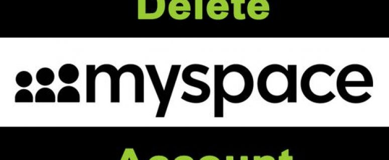 how to delete myspace page