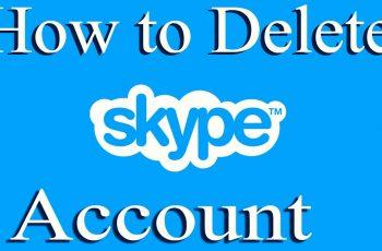 delete your Skype account