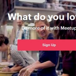 create meetup account