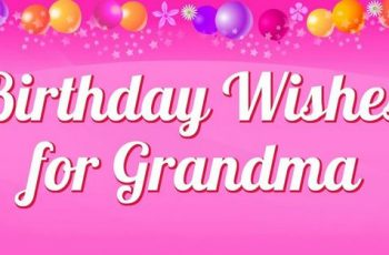Birthday Wishes Messages For Grandma