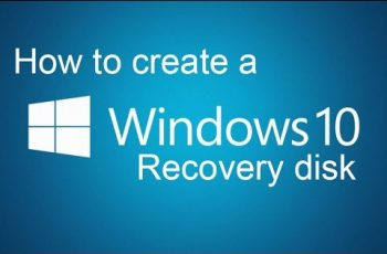 windows 10 recovery disk