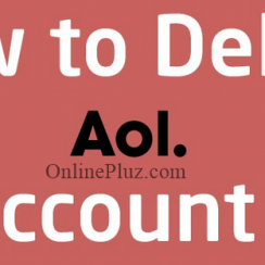 Delete AOL Mail Account