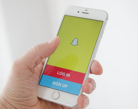Sign Up SnapChat Account On iPhone