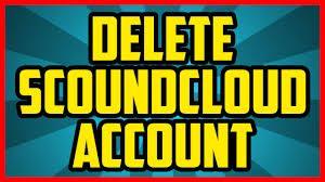 delete your SoundCloud account